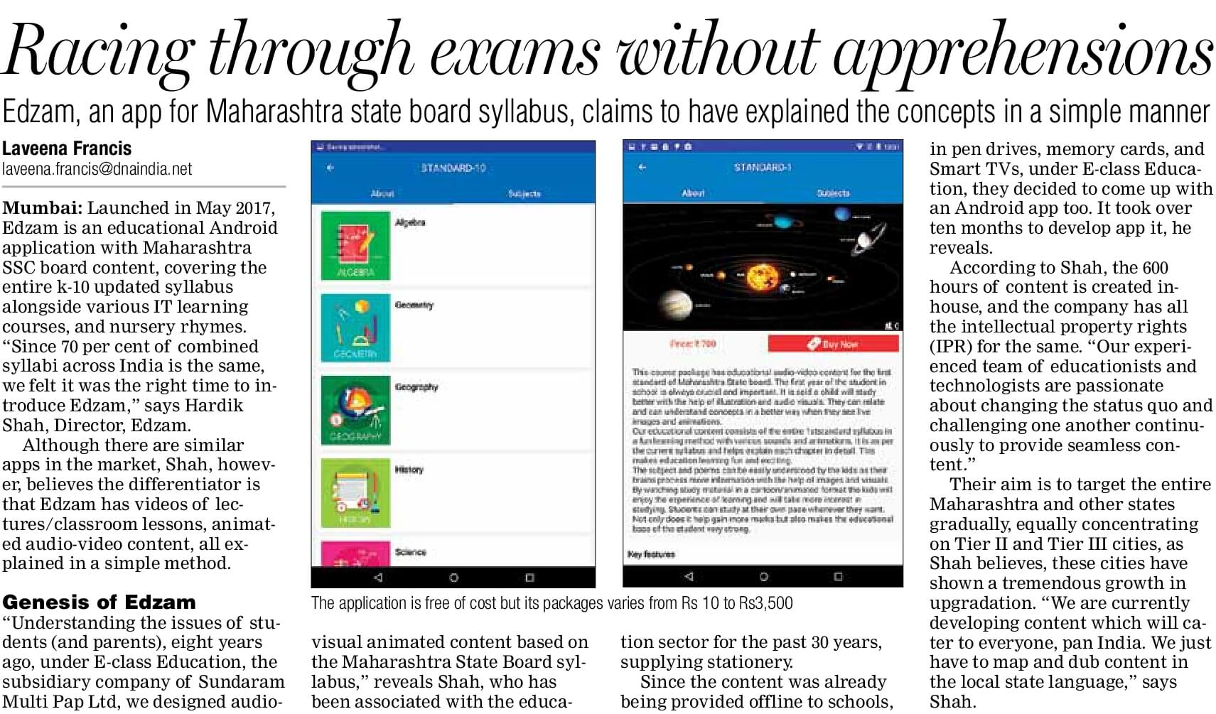 In The News - E-Class | E Learning Tools for SSC Schools